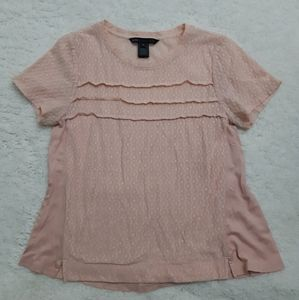 MARC by Marc Jacobs pink blouse